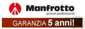 Garanzia Manfrotto 5 anni