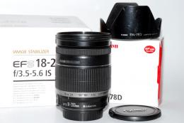 CANON EF-S 18-200/3,5-5,6 IS + PARALUCE EW-78D (art. U45194