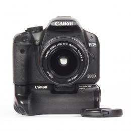 CANON EOS 500D + EF-S 18-55 f/3,5-5,6 IS + GRIP CANON...