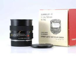 LEICA LEITZ WETZLAR SUMMILUX-R 50/1,4 (11776 ) MOLTO BELLO...
