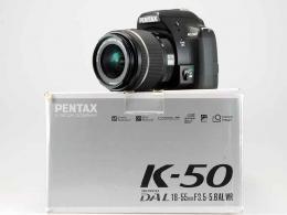 PENTAX DSLR K-50 + SMC DA 18-50 AL WR - PERFETTA ( 6550 SCATTI!!...