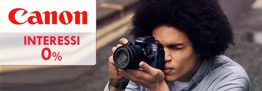 Canon Interessi Zero fino al 28 Febbraio 2019