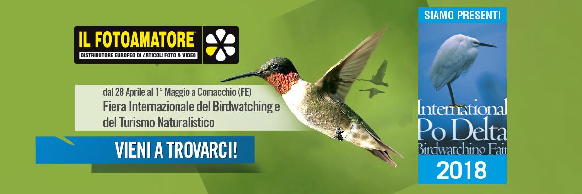 ILFOTOAMATORE alla fiera internazionale del Birdwatching di Comacchio