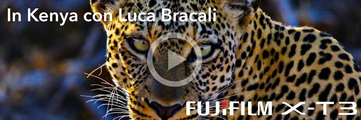 Video di Luca Bracali in Kenya con Fujifilm X-T3