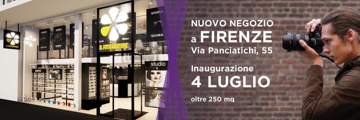 Nuovo punto vendita ILFOTOAMATORE Firenze