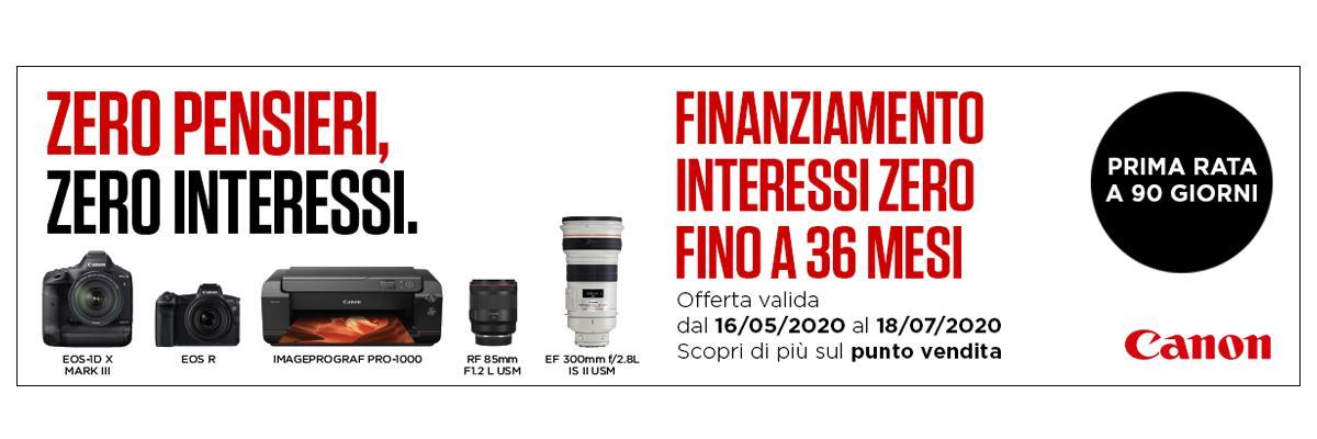 Canon Interessi Zero