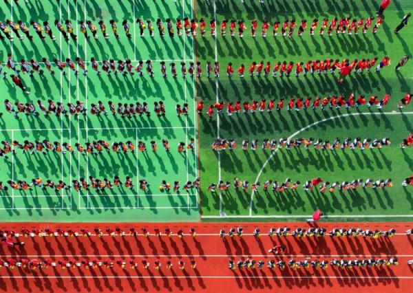 Senrong Hu - Sportsmen Under The Sun
