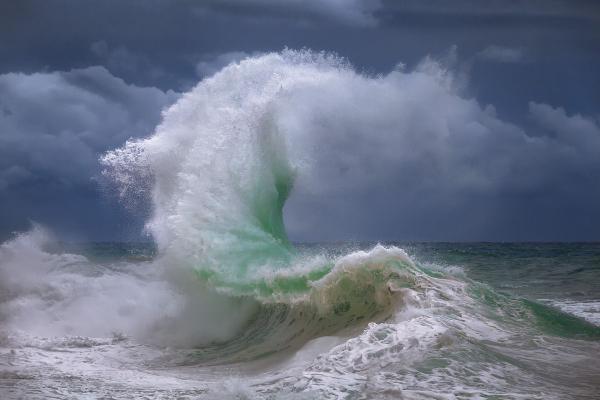Giovanni Allievi - Rough Sea 4