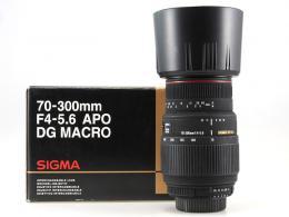 SIGMA 70-300MM F4-5,6 APO DG MACRO PER NIKON ( A-- ) (art. U44804
