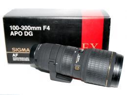 SIGMA 100-300/4 APO HSM EX DG N/AFD (art. U45364