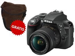 NIKON D3300+AF-P 18-55 VR+BORSA