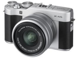 FUJI X-A5 SILVER+XC 15-45/3,5-5,6 OIS PZ