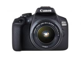 CANON EOS 2000D+EFS 18-55 ISII