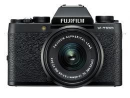 FUJI X-T100 BLACK+15-45 OIS PZ
