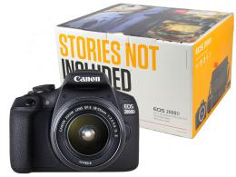 CANON EOS 2000D+EFS 18-55 ISII VALUE UP KIT
