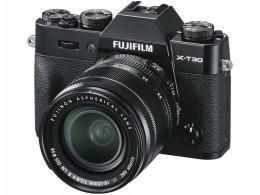 FUJI X-T30 BLACK+18-55/2,8-4 R LM OIS
