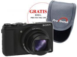 SONY DSC-HX60 'BLACK'+BORSA PRO-TECNIK 1304