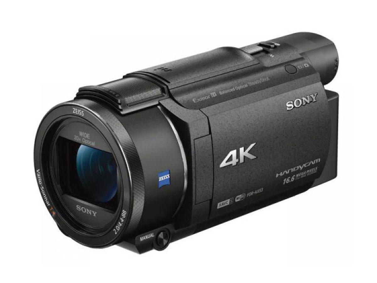 Sony FDR- AX53 Creator Kit con microfono Shotgun Sony ECM-CG60 e treppiede Joby Gorillapod