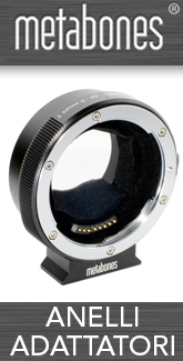 anelli adattatori metabones